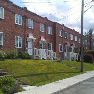 Maisons en rangée, rue Bullard